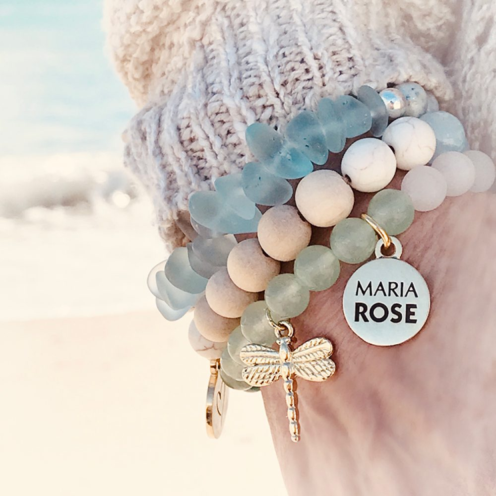 Maria Rose Beach Life Collection Bracelets