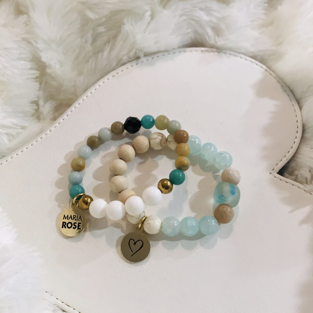 Beach Beaded Bracelet Set