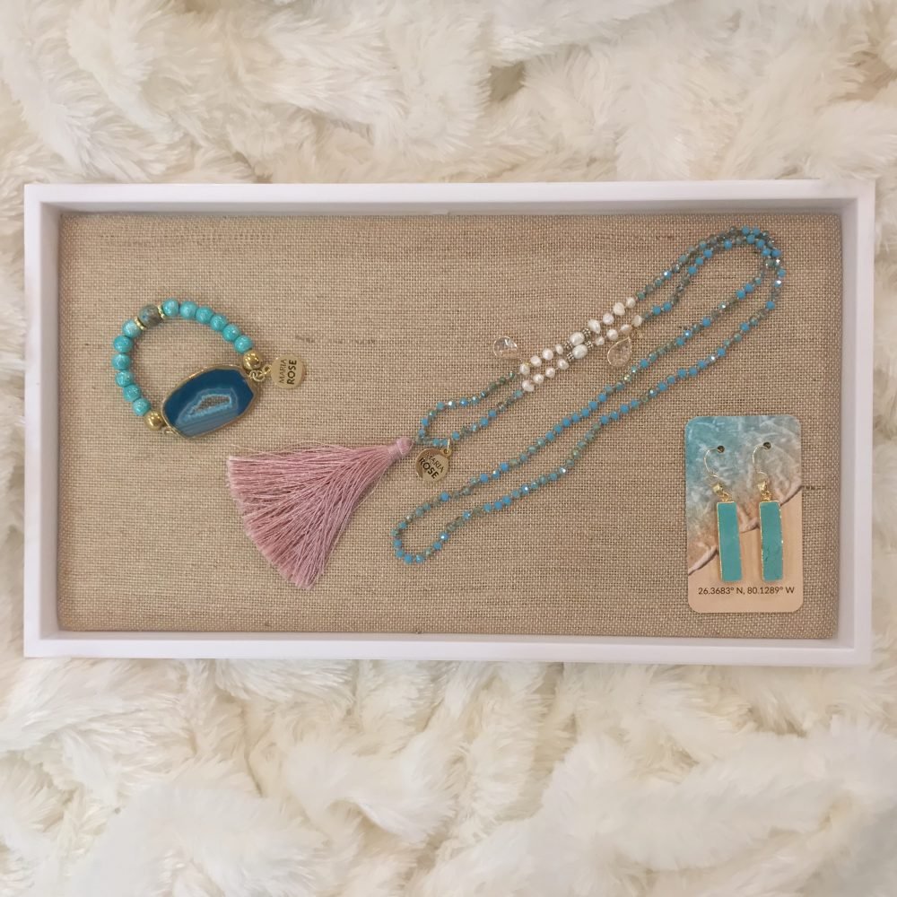 Jewelry Gift Set - Turquoise and Pink